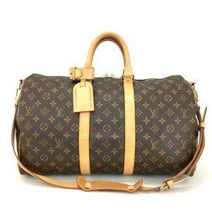 Louis Vuitton Keepall Bandouliere 45 Monogram Bag